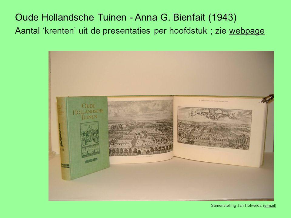 Oude Hollandsche Tuinen - Anna G.