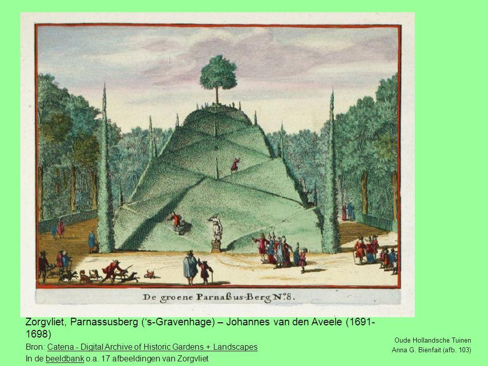 Oude Hollandsche Tuinen Anna G.Bienfait (afb.