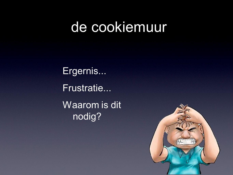 de cookiewet Websites zijn verplicht u te informeren over cookies Websites hebben uw expliciete toestemming nodig voor het plaatsen van sommige cookies