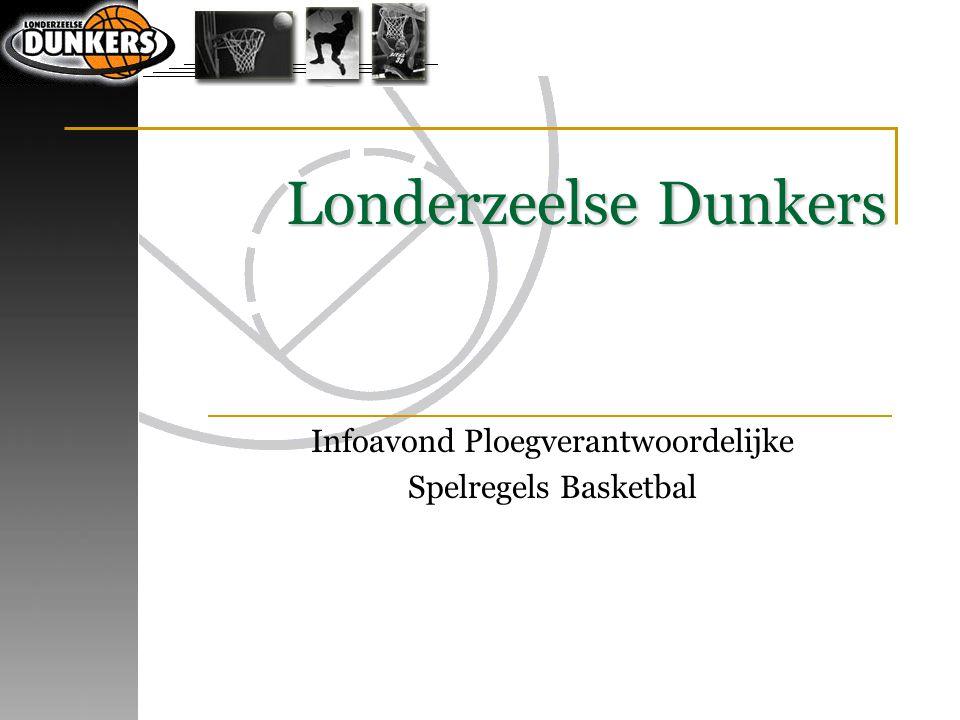 Londerzeelse Dunkers Infoavond Ploegverantwoordelijke Spelregels Basketbal