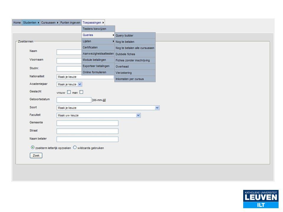 Online (vertaal)woordenboek Frans Online databank met uitgebreide zoekfuncties Shortcuts naar internetsites en parallelle corpora http://ilt.kuleuven.be/blf