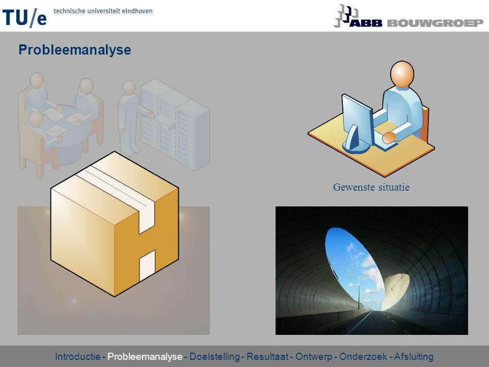 Uitvoeringstijd Aan de hand van intervallen, productietempo s en tunnelinzet.