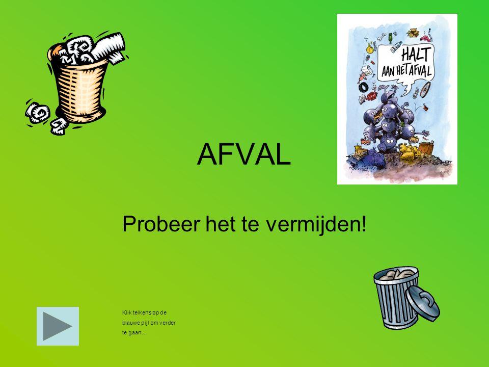 Duyck Frederik Wat is afval.Afval zijn dingen die je niet meer gebruikt en die je weg gooit.