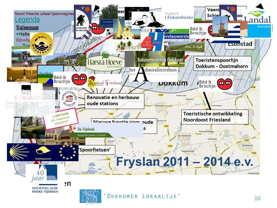 De Noord Friesche kaart opnieuw getekend! 10 Fryslan 2011 – 2014 e.v. Ternaard