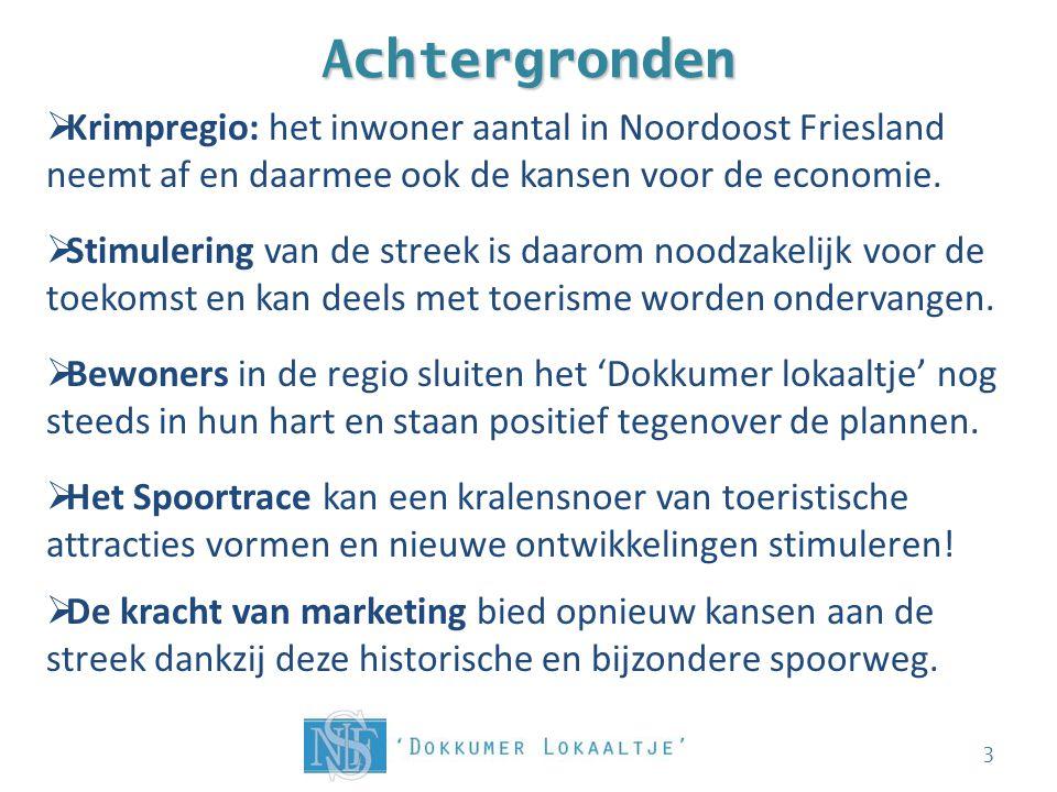 Achtergronden 3  Krimpregio: het inwoner aantal in Noordoost Friesland neemt af en daarmee ook de kansen voor de economie.