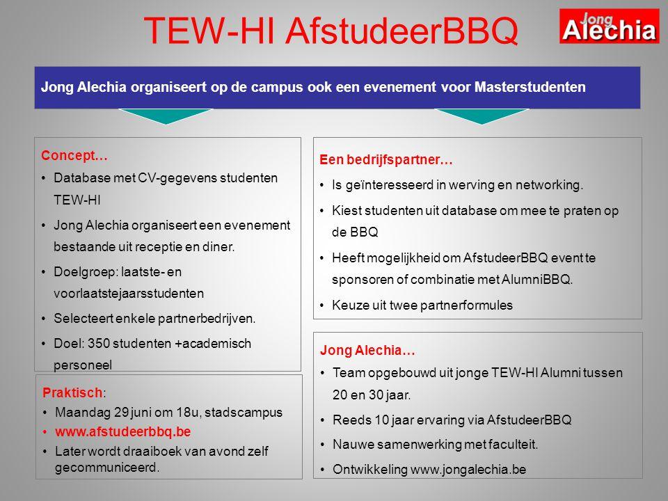 Praktisch: •Maandag 29 juni om 18u, stadscampus •www.afstudeerbbq.be •Later wordt draaiboek van avond zelf gecommuniceerd.