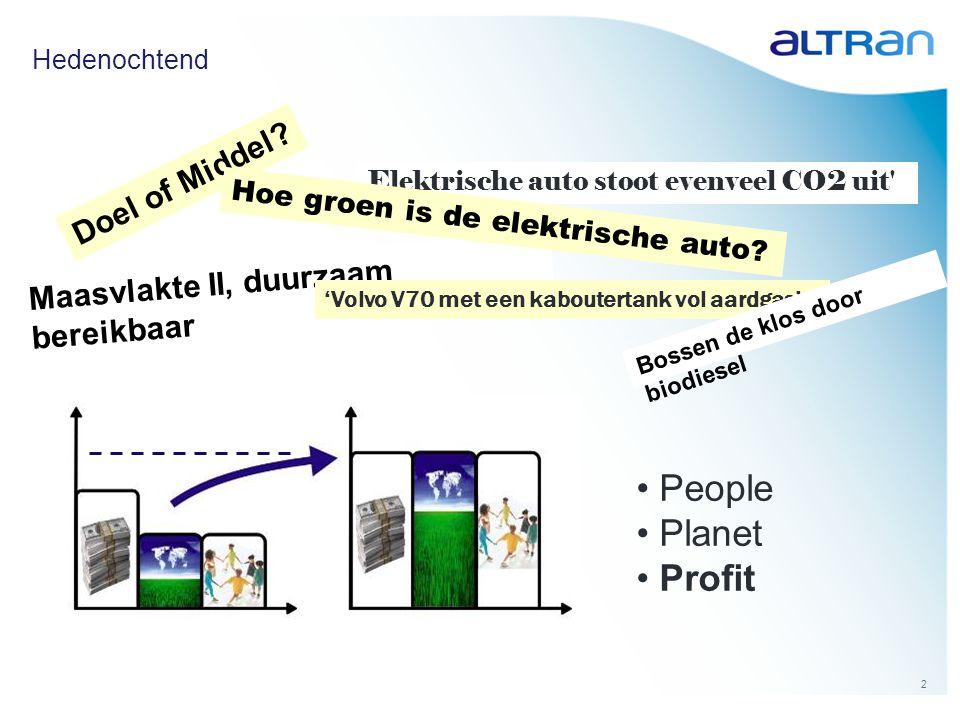33 Op deze manier kan duurzame mobiliteit inderdaad een motor voor economisch groei zijn.