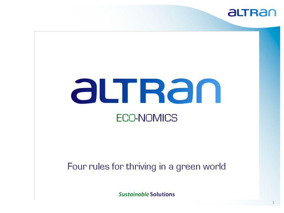 4 1.About Altran 2.SWAFEA: Onze aanpak 3.CLIMO & InterCT: Voorbeeld van een businesscase 4.Biodiesel B30: Meer dan de directe geldstromen 5.Samenvattend