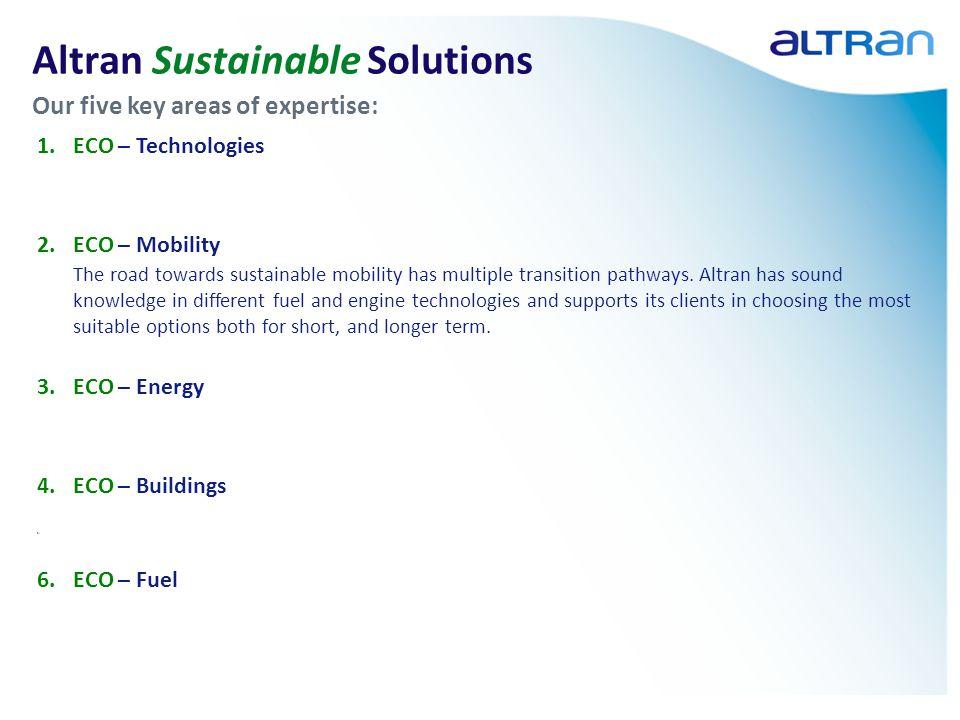 9 1.About Altran 2.SWAFEA: Onze aanpak 3.CLIMO & InterCT: Voorbeeld van een businesscase 4.Biodiesel B30: Meer dan de directe geldstromen 5.Samenvattend