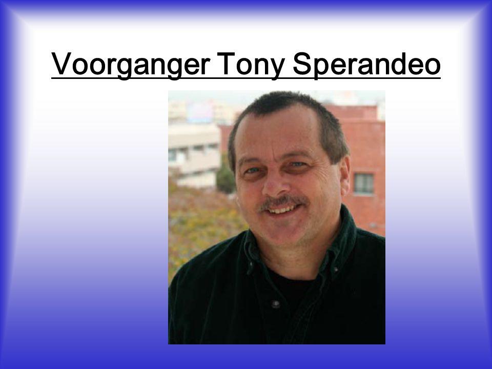 Voorganger Tony Sperandeo