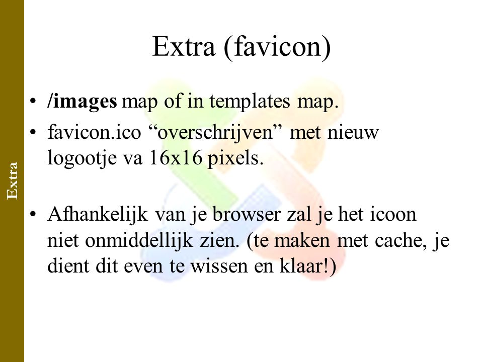 Extra (favicon) •/images map of in templates map.