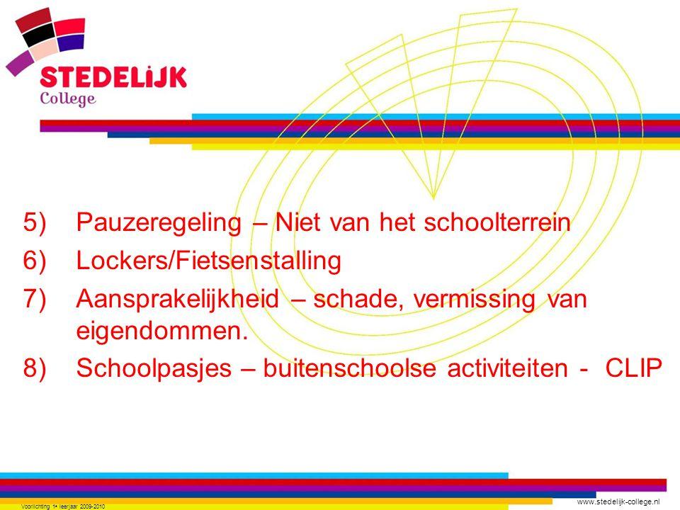 www.stedelijk-college.nl 15) Contact mentor – (chathie@scz.nl) 16) Vragen..?.