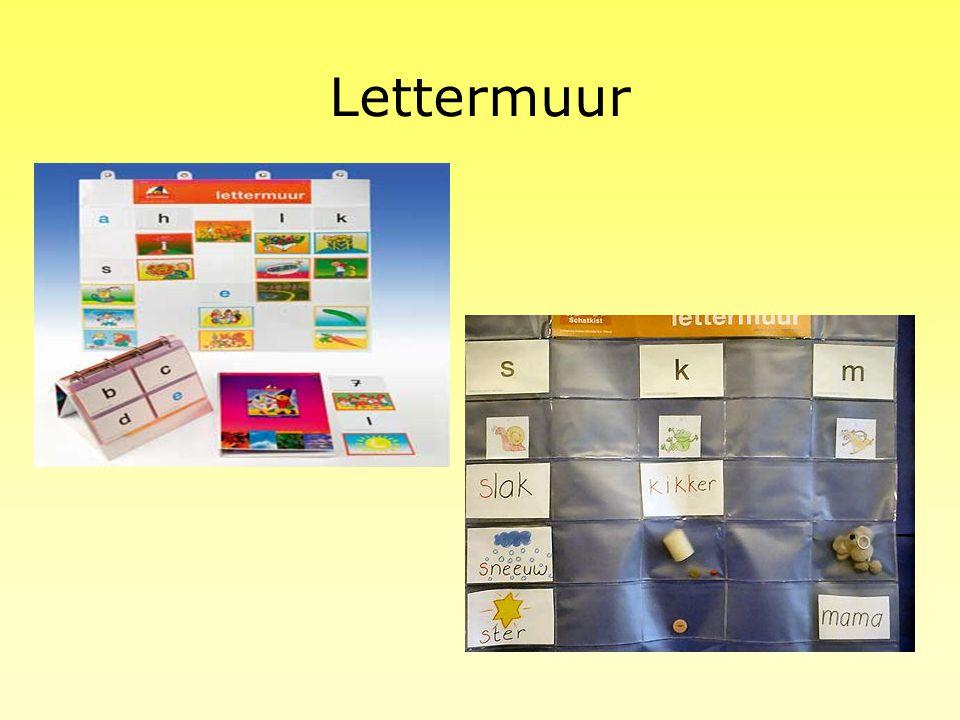 Voorbereiding op groep 3 Bij elk project hoort voor de oudste kleuters een stencil met voorbereidende opdrachten m.b.t. taal en rekenen. Woorden naste