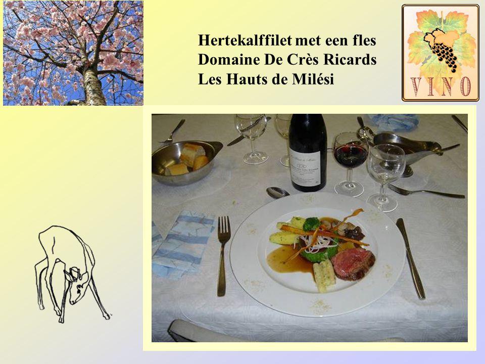 Een menu voor …………….. Posteleinsoep met een flesje Ch. Beaubois blanc Costières de Nîmes Côtes du Rhône Ossobucco met een flesje Dom. duTrillol rood S