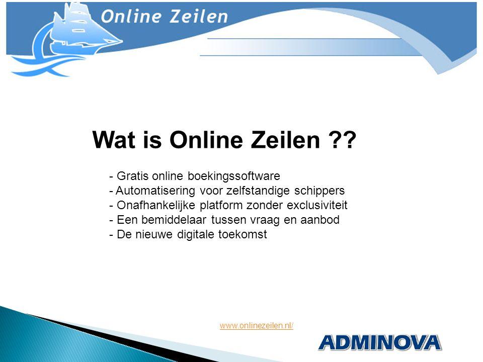 - Gratis online boekingssoftware - Automatisering voor zelfstandige schippers - Onafhankelijke platform zonder exclusiviteit - Een bemiddelaar tussen