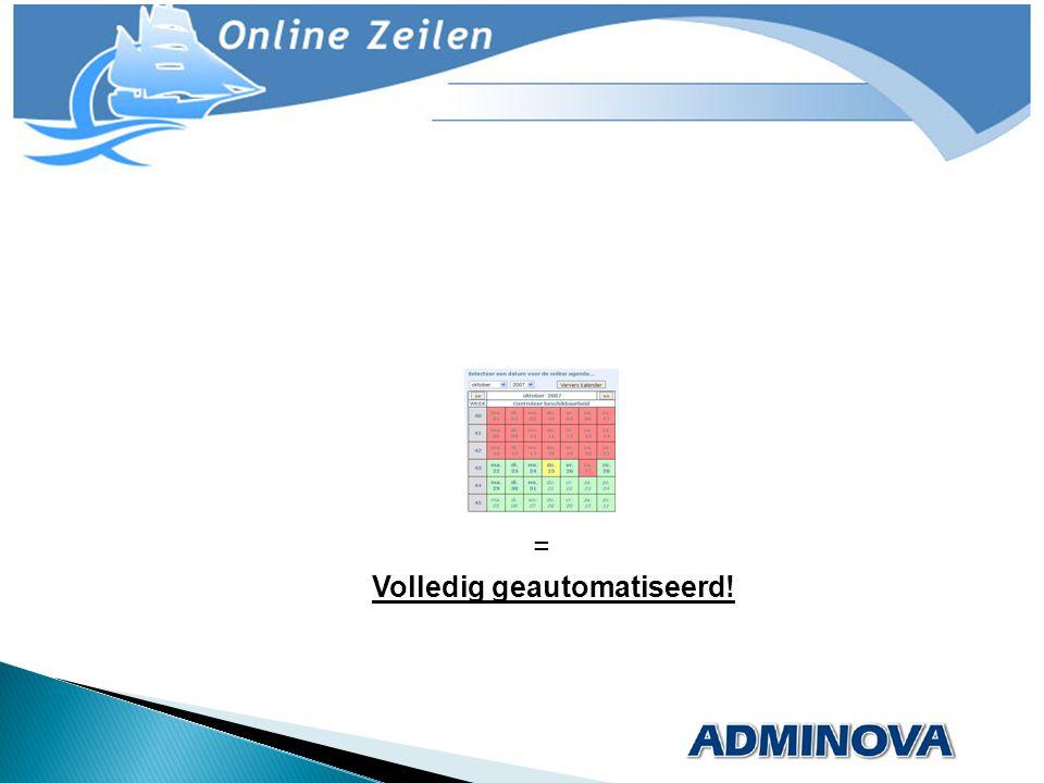 Na verzending direct realtime klik informatie.