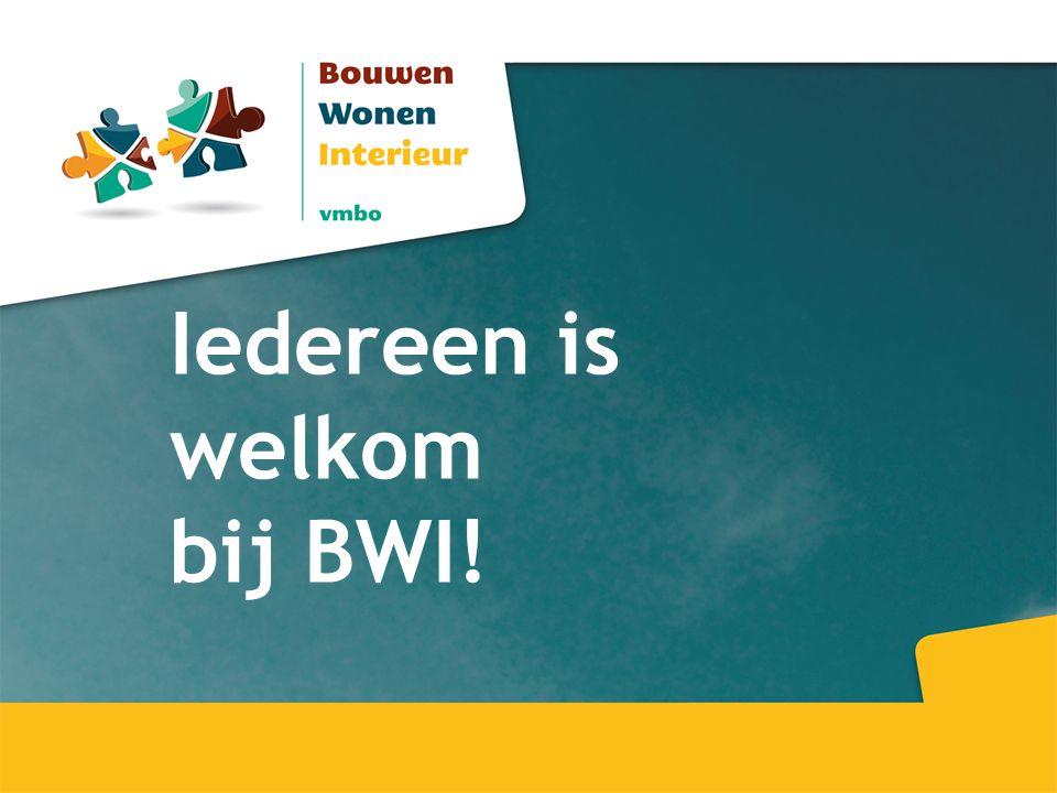 Iedereen is welkom bij BWI!