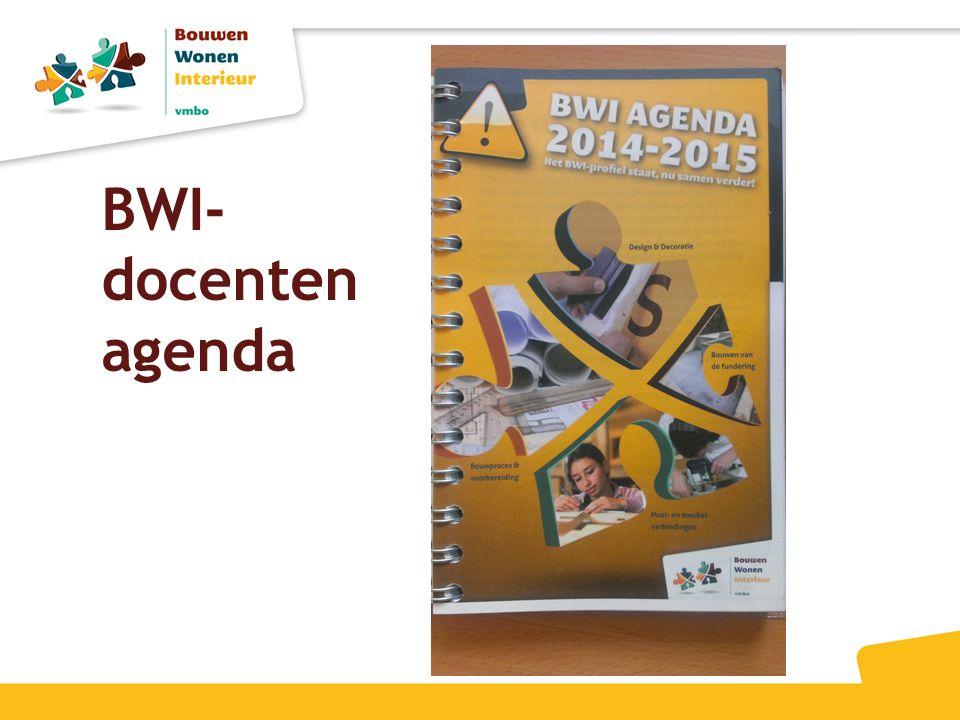 BWI- docenten agenda