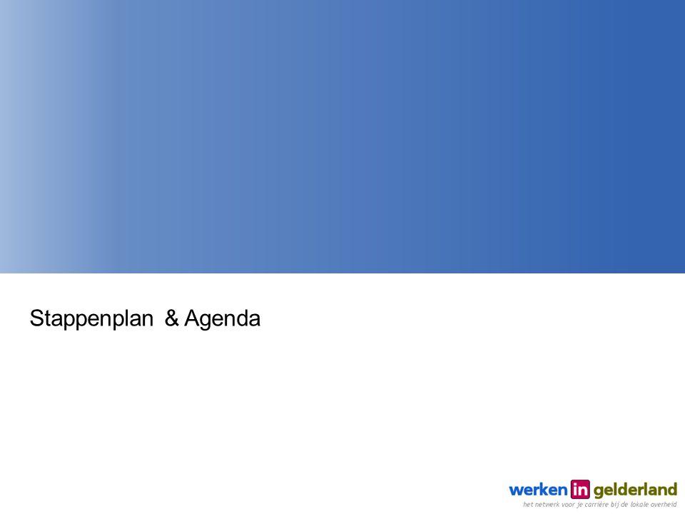 Stappenplan & Agenda