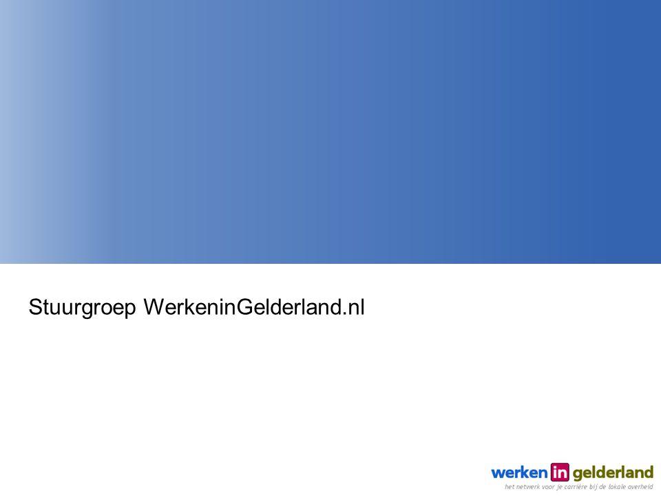 Stuurgroep WerkeninGelderland.nl