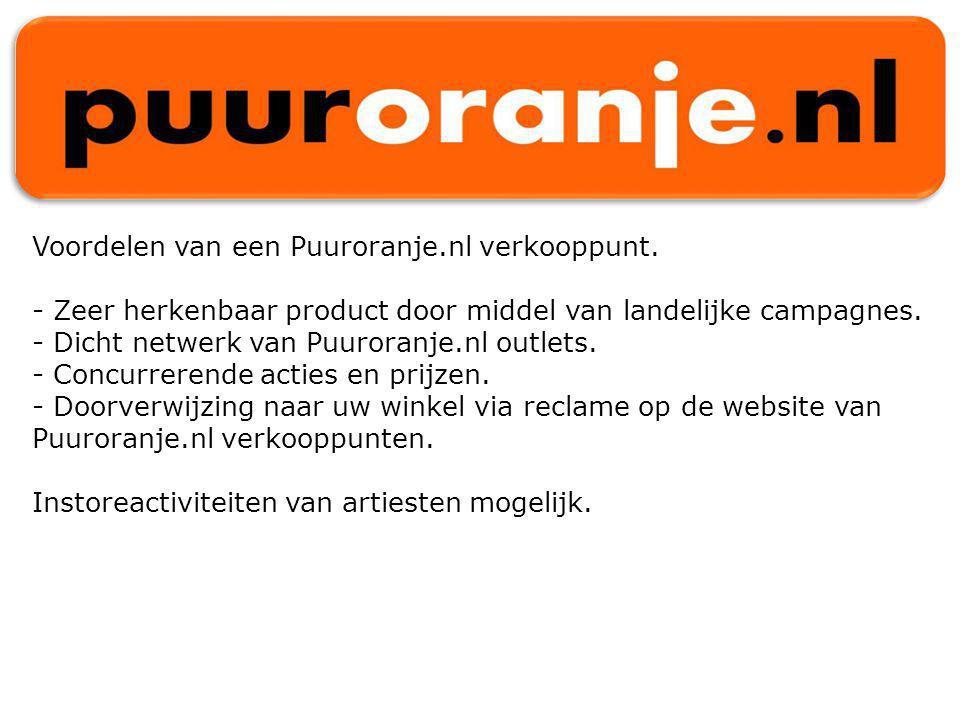 Voordelen van een Puuroranje.nl verkooppunt.