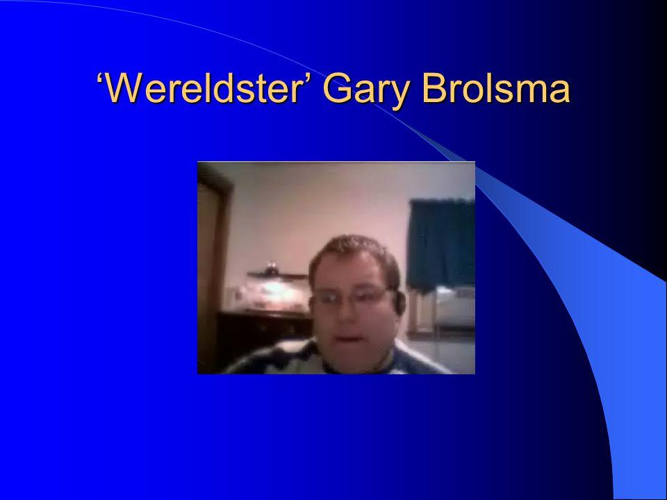 'Wereldster' Gary Brolsma