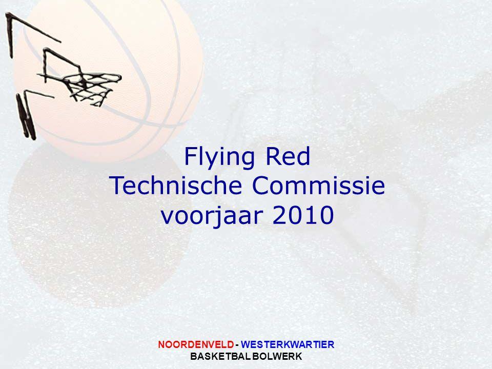 NOORDENVELD - WESTERKWARTIER BASKETBAL BOLWERK Flying Red Technische Commissie voorjaar 2010