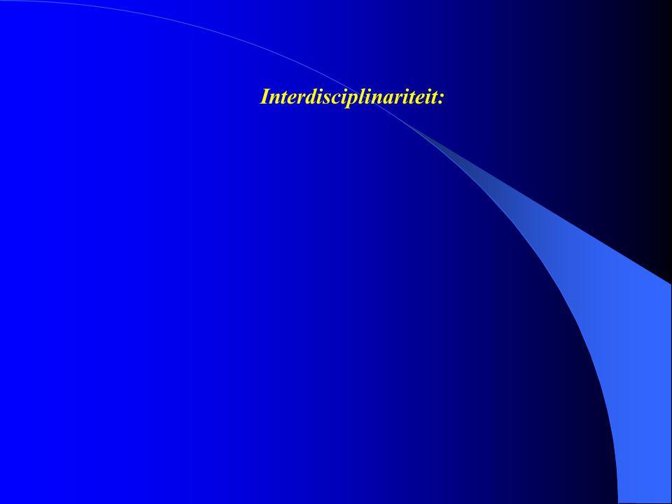 Interdisciplinariteit: