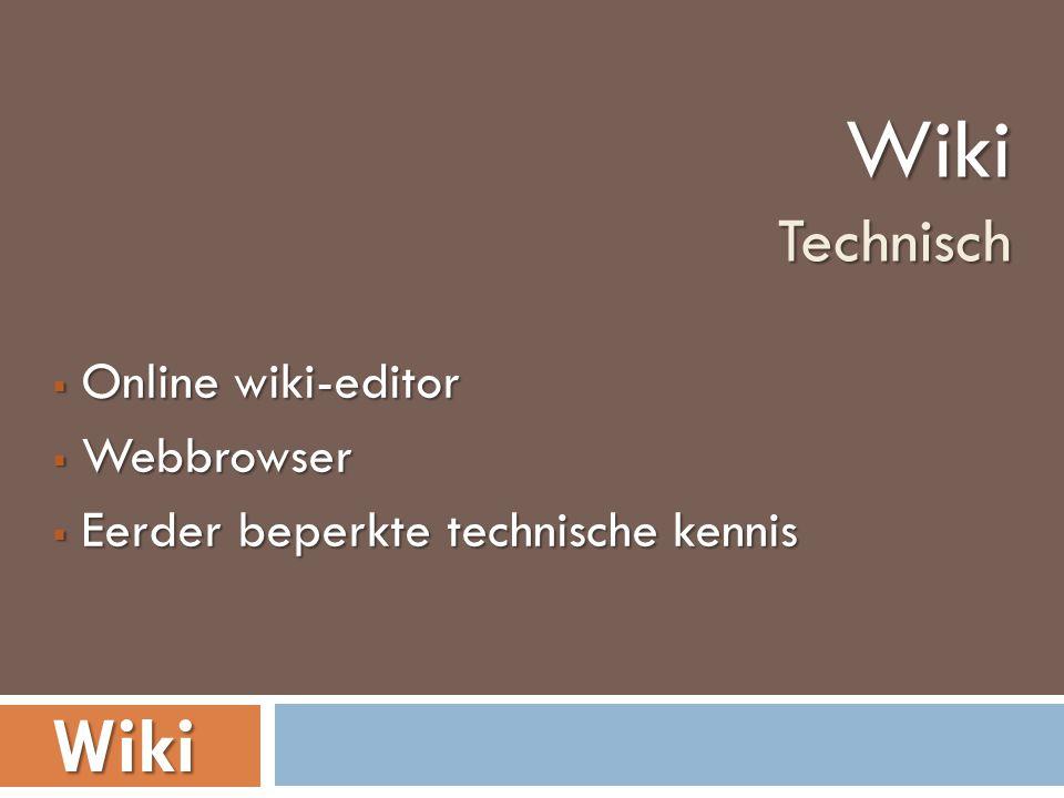 Iedereen kan je wiki aanpassen. Iedereen kan je wiki aanpassen.