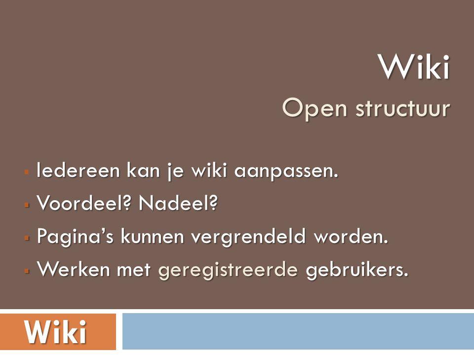 Bekijk de documentaire Wiki s waarheid (VPRO) waarin voor- en tegenstanders van Wikipedia en Web 2.0 aan het woord komen.