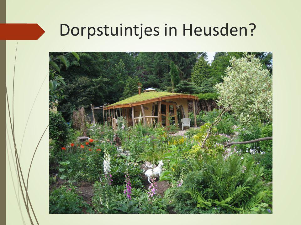 Dorpstuintjes in Heusden