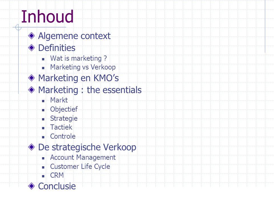 Marketing: the essentials Fase 1 Waar staan we nu.