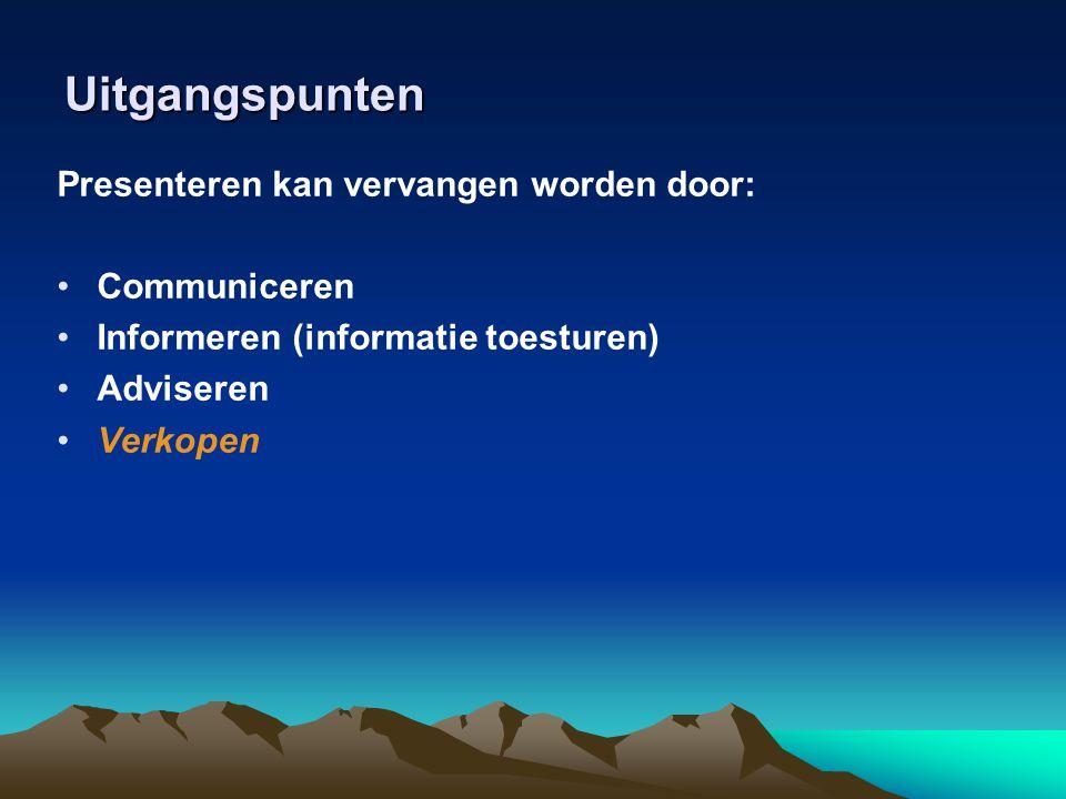 Eigen ervaring in 2006 Koude acquisitie: 4 Lauwe acquisitie (tip, via, via): 8 Warme acquisitie: 9 Totaal: 21 klanten