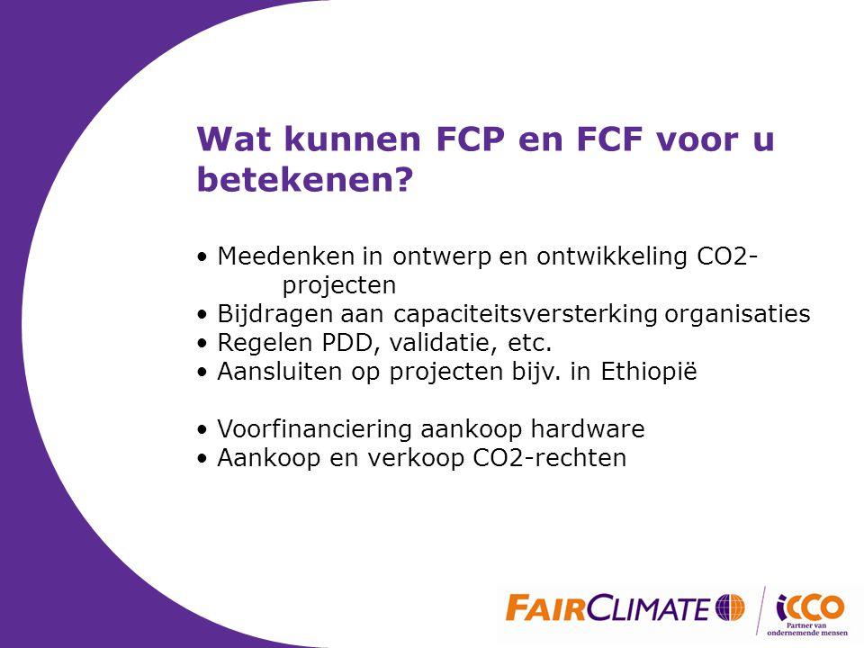 Wat kunnen FCP en FCF voor u betekenen.