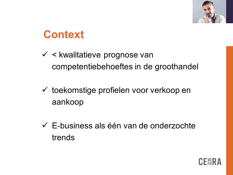 E-businessa formation doit  Online interface met de klant  Verkoop: de belangrijkste trend  Inkoop: een trend naast anderen