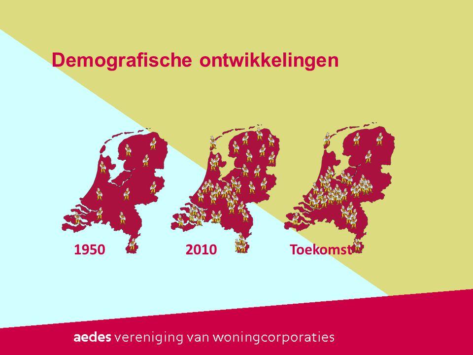 Demografische ontwikkelingen 19502010Toekomst