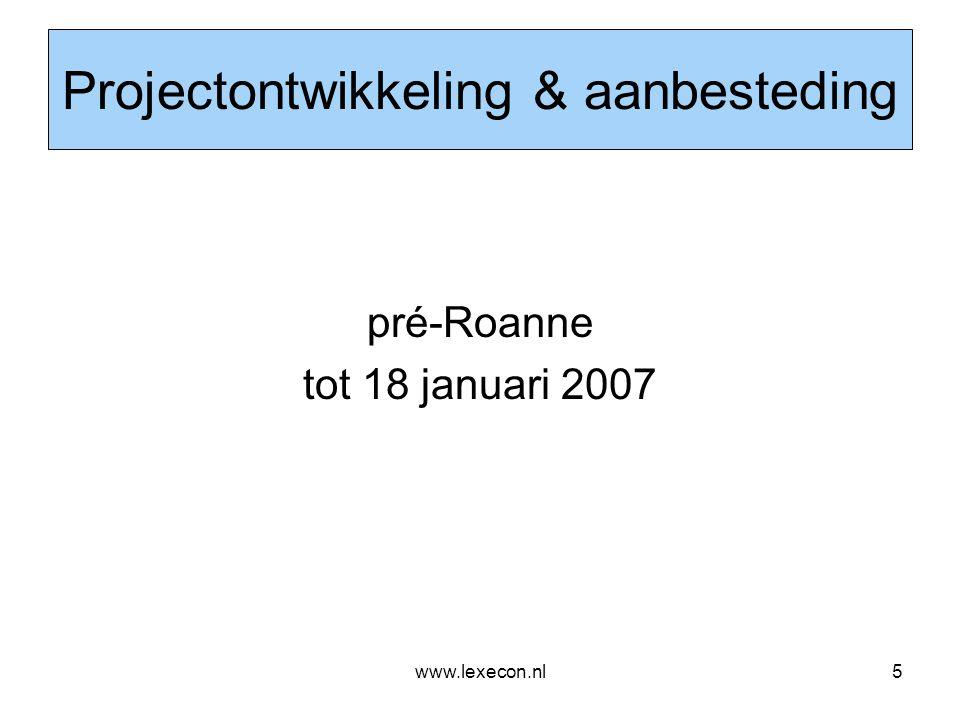 www.lexecon.nl6 Woonpark Mortiere, maart 2006