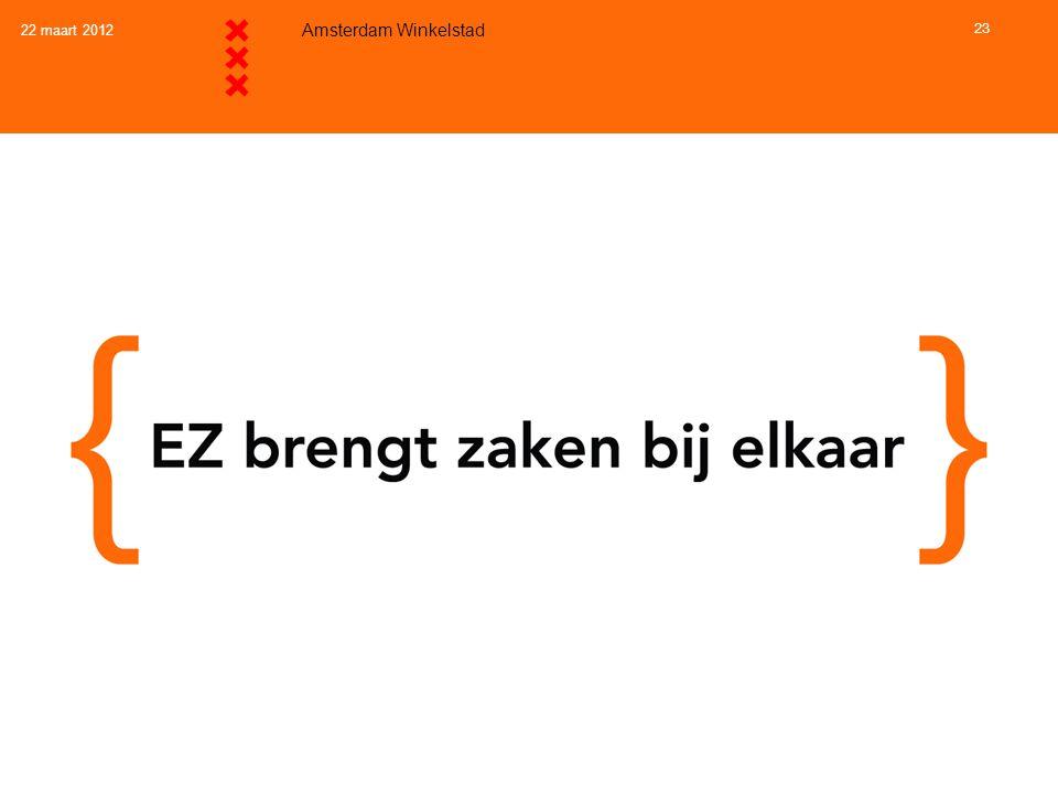 22 maart 2012 Amsterdam Winkelstad 23