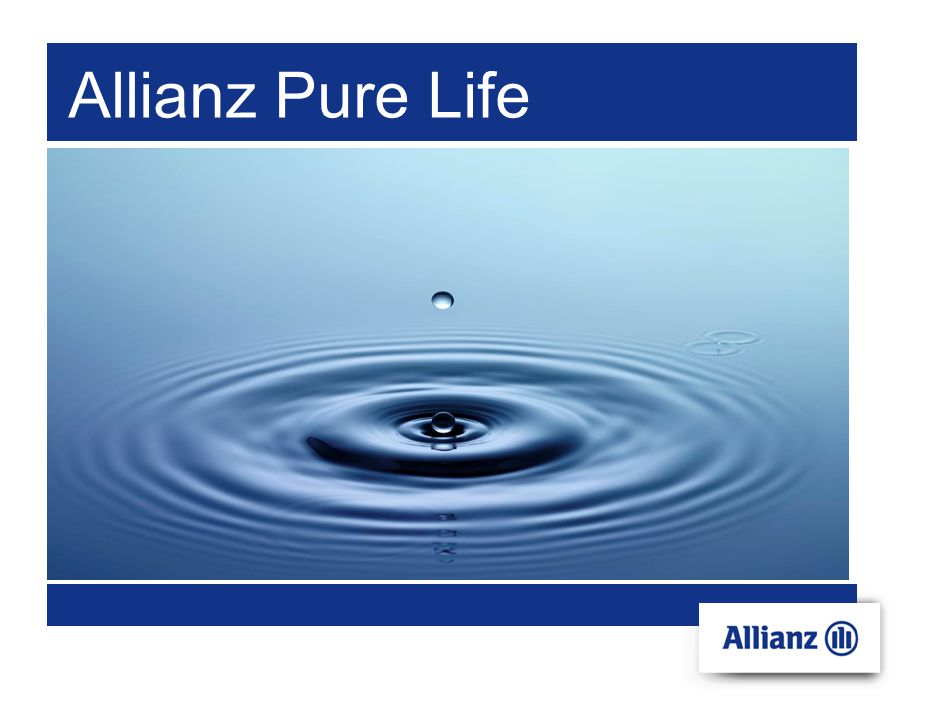 Allianz Pure Life