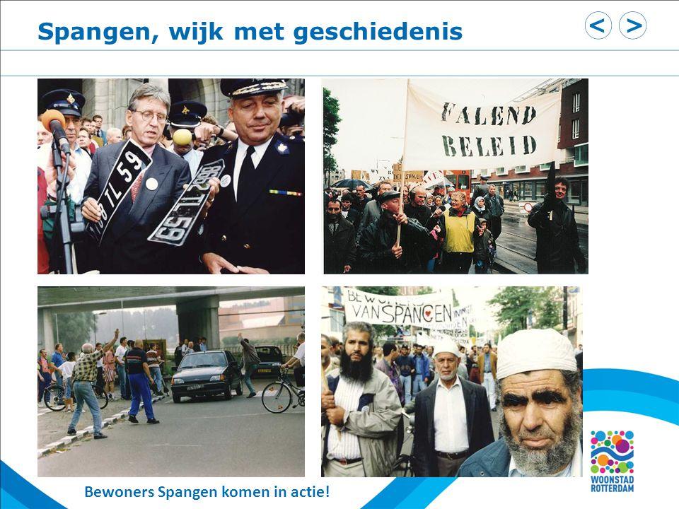 Bewoners Spangen komen in actie! Spangen, wijk met geschiedenis