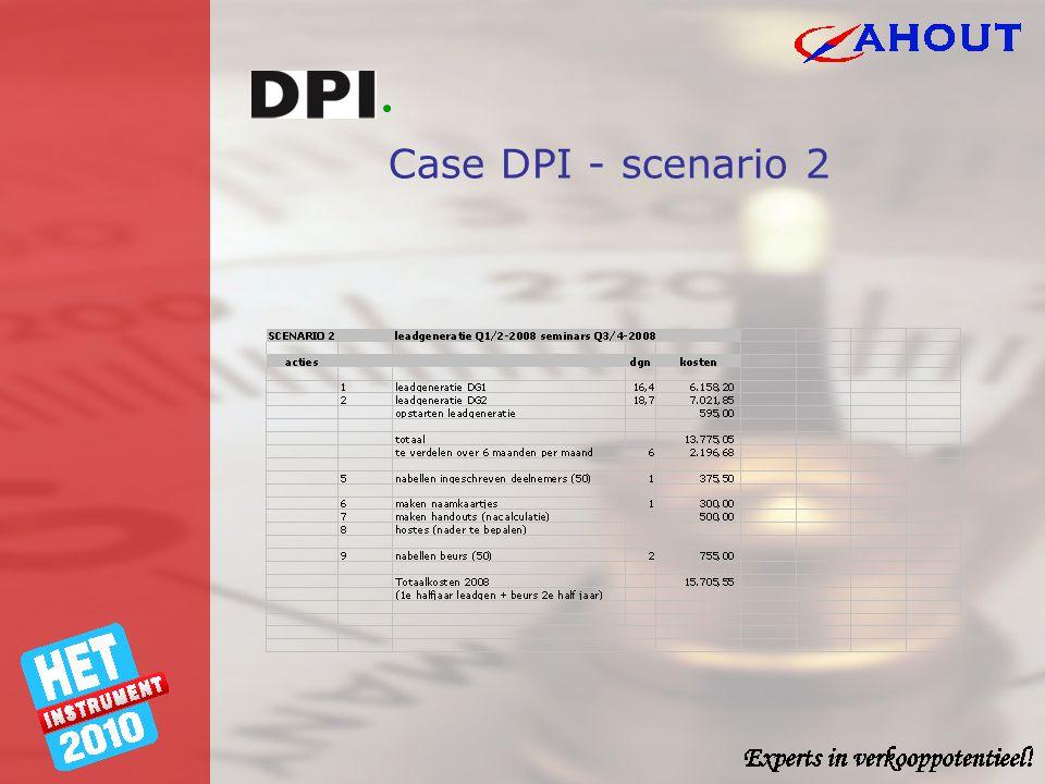 Case DPI - scenario 2
