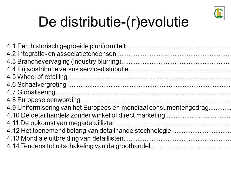De distributie-(r)evolutie 4.1 Een historisch gegroeide pluriformiteit................................................................................