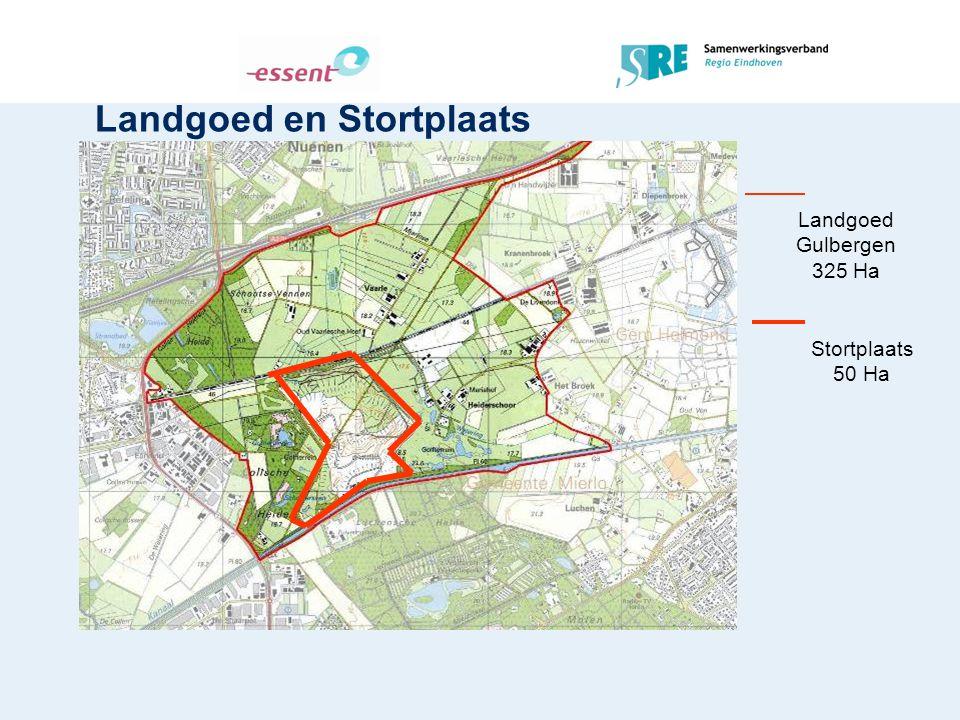 Landgoed en Stortplaats Landgoed Gulbergen 325 Ha Stortplaats 50 Ha
