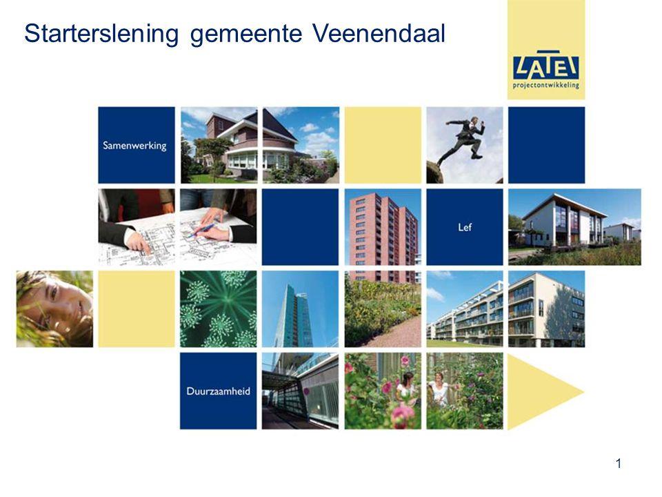 1 Starterslening gemeente Veenendaal