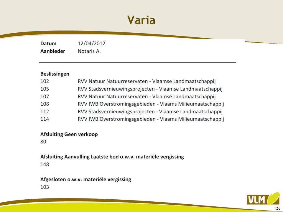 Varia 126
