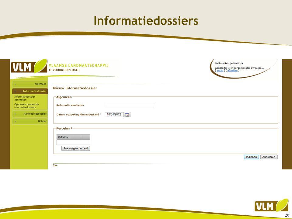 Informatiedossiers 20