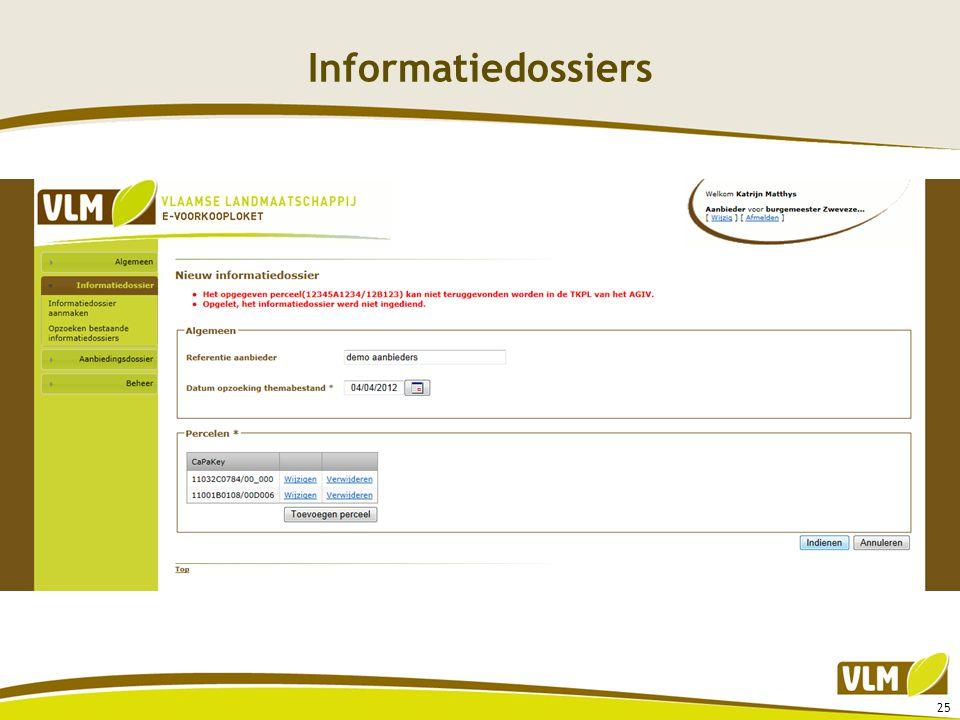 Informatiedossiers 25