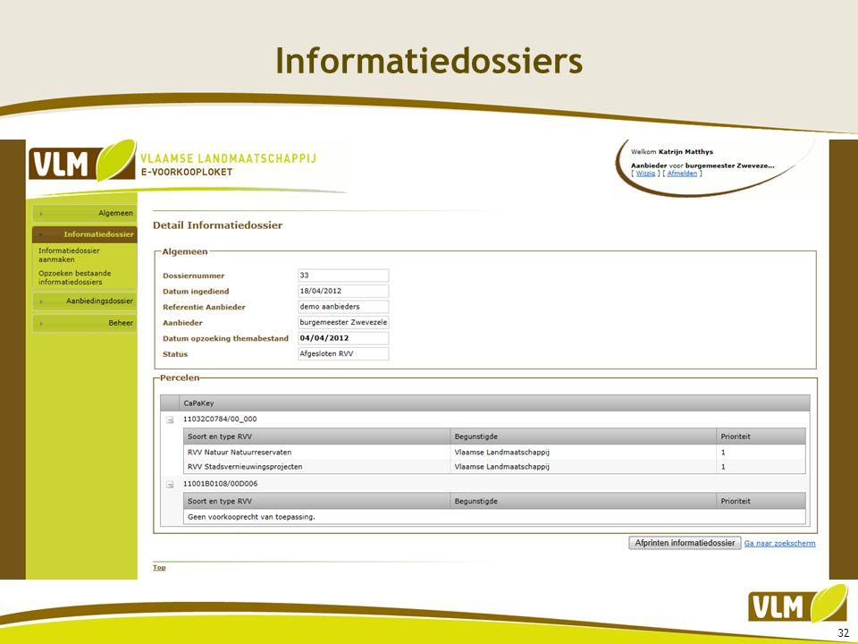 Informatiedossiers 32