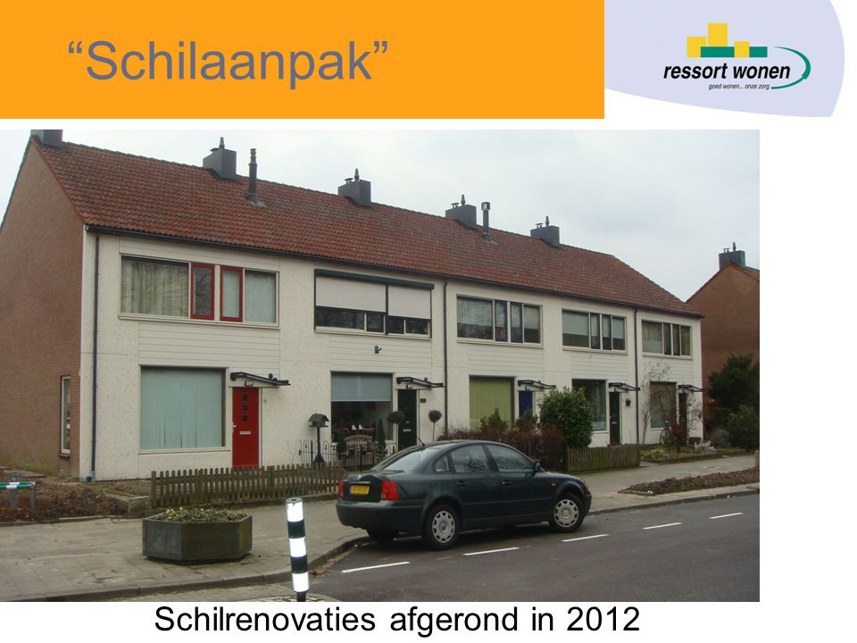 Schilaanpak Schilrenovaties afgerond in 2012