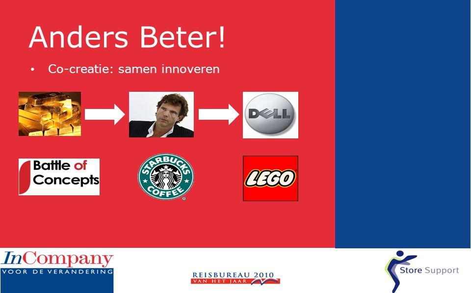 Anders Beter! • Co-creatie: samen innoveren